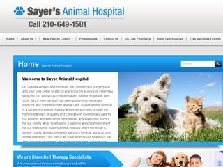 Sayers Animal Hospital | Boarding