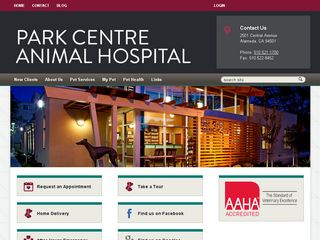 Park Centre Animal Hospital | Boarding
