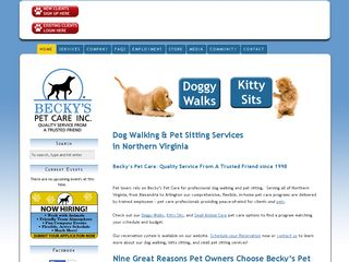 Beckys Pet Care Alexandria