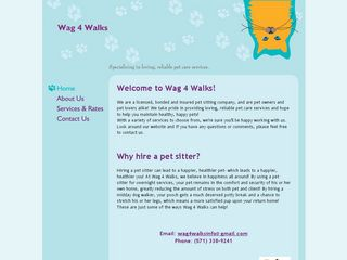 Wag 4 Walks | Boarding