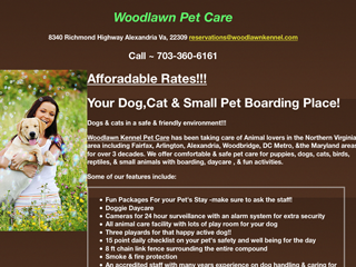 Woodlawn Pet Care Alexandria