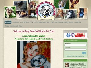 Dog Gone Walking & Pet Care Alexandria