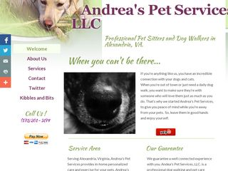 Andreas Pet Services Alexandria