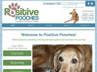 Positive Pooches Dog Daycare Algona