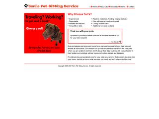 Teris Pet Sitting Service Allen