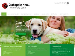 Crabapple Knoll Veterinary Clinic Alpharetta