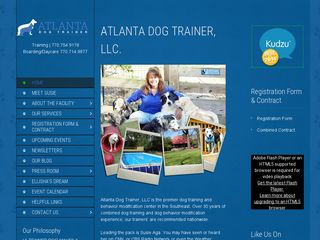 Atlanta Dog Trainer | Boarding