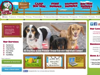 Camp Bow Wow Dog Boarding Alpharetta | Boarding