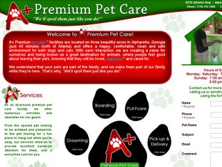 A + Premium Pet Care Alpharetta