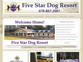 Five Star Dog Resort | Boarding