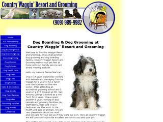 Country Waggin Resort and Groom Alta Loma