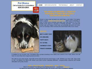 Pet Mama Pet Sitting | Boarding