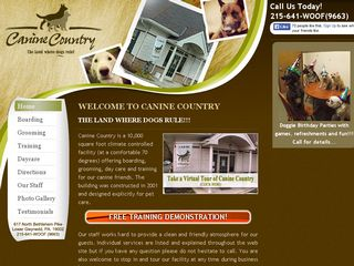 Canine Country Incorporated | Boarding