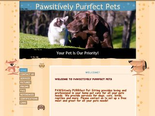 Pawsitively Purrfect Pet Sitting | Boarding