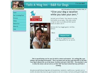 Tails A Wag Inn | Boarding