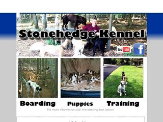 Stonehedge Kennel | Boarding