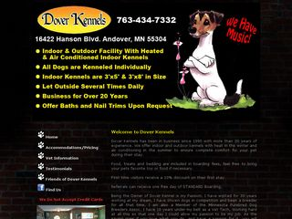 Photo of Dover Kennels in Andover