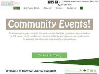 Hoffman Animal Hospital Annapolis