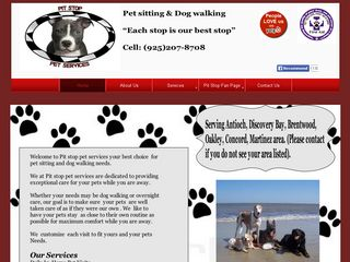 Pit Stop Pet Services | Boarding