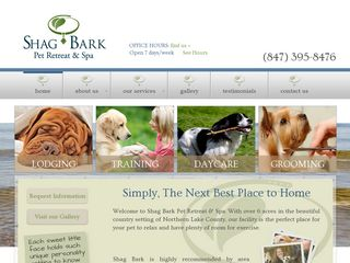 Shag Bark Pet Retreat and Spa | Boarding