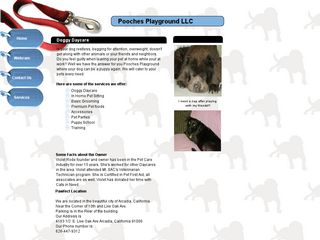 Pooches Playground LLC | Boarding
