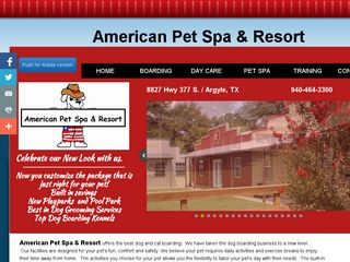 American Pet Spa & Resort | Boarding