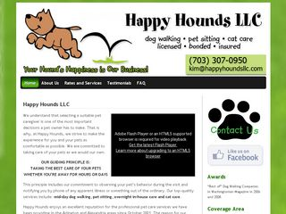Happy Hounds | Boarding
