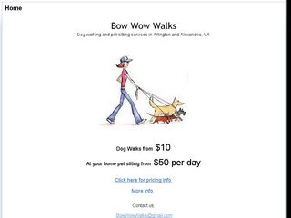 Bow Wow Walks Arlington