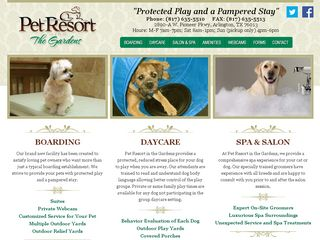 Pet Resort In The Gardens | Boarding
