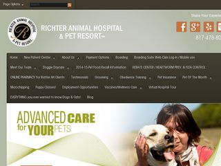 Richter Animal Hospital Pet Resort Arlington