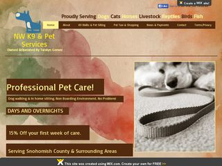NW K9  Pet Services | Boarding
