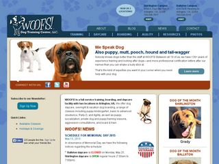 Woofs Dog Training Ctr LLC | Boarding