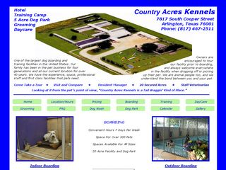 Country Acres Kennels | Boarding