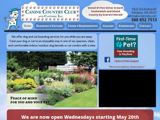 Canine Country Club And Cattery Inc | Boarding