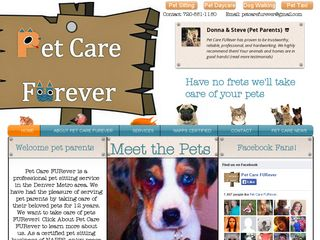 Pet Care FURever | Boarding