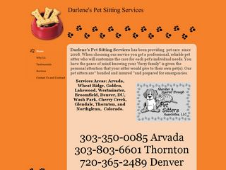 Darlenes Pet Sitting Services | Boarding