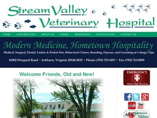 Stream Valley Veterinary Hospital Ashburn