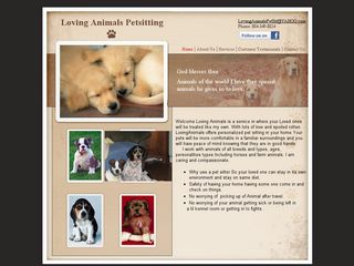 Loving Animals Pet Sitting | Boarding