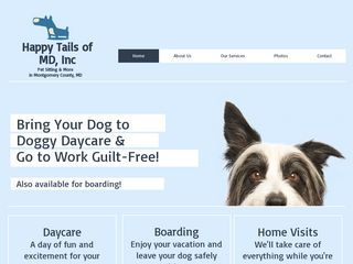 Happy Tails of MD Inc | Boarding