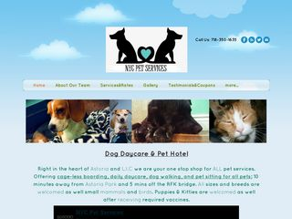 NYC Pet Services Incorporated | Boarding