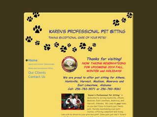 Karens Professional Pet Sitting Athens
