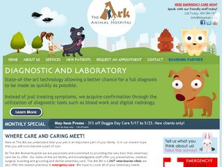 The Ark Animal Hospital | Boarding