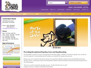 Central Bark Doggy Day Care Atlanta | Boarding