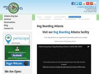 Atlanta Dog Spa Atlanta
