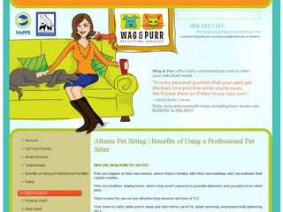 Wag  Purr Pet Sitting Services Atlanta