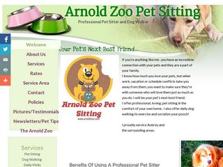 Arnold Zoo Pet Sitting Aubrey