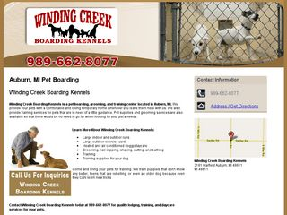 Winding Creek Boarding Kennels Auburn