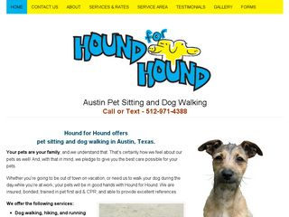 Hound for Hound | Boarding