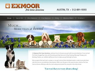 Exmoor Pet Care Services | Boarding