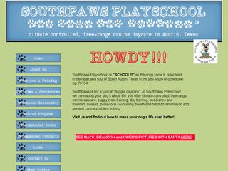 Southpaws Playschool | Boarding